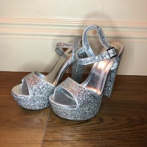 Sparkly heels from Charlotte Russe